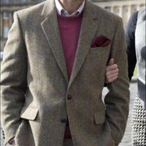 🎁Harris Tweed Jacket. Like new.Bought in England.